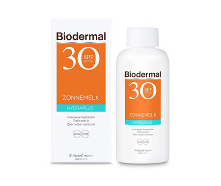 Biodermal Zonnebrand - Hydraplus - Zonnemelk - SPF 30