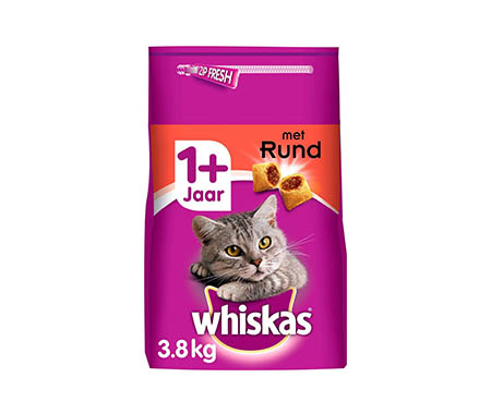 Whiskas 1+ droogvoer kattenbrokken